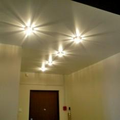 Освещение с натяжными потолками